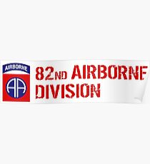 82nd Airborne Division Poster