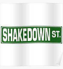 Shakedown Street Poster