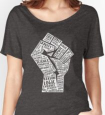 March For Science Fist Women's Relaxed Fit T-Shirt