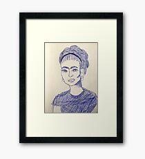 Frida Artwork Framed Print