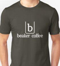 Beaker Coffee full logo - White Unisex T-Shirt