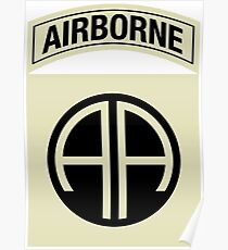 82nd Airborne Division (Subdued) Poster