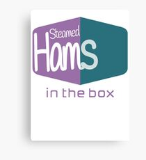 Steamed Hams in the Box (Skinner) Canvas Print