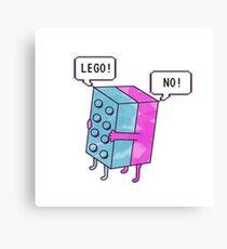 Lego! Canvas Print