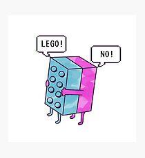 Lego! Photographic Print