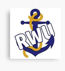 RWU Anchor Canvas Print