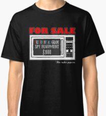 Microwave Spy Equipment Design Classic T-Shirt