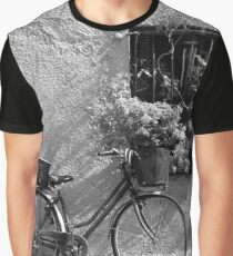 Bicycle and Window Graphic T-Shirt