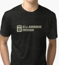 82nd Airborne Division (Subdued) Tri-blend T-Shirt