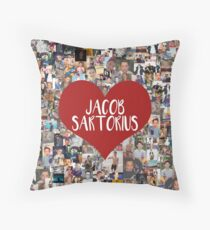 I love Jacob Sartorius Throw Pillow