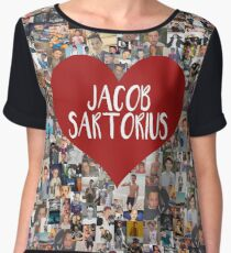 I love Jacob Sartorius Women's Chiffon Top