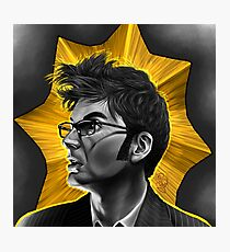 The Tenth Doctor David Tennant Hair Doctor Who Photographic Print
