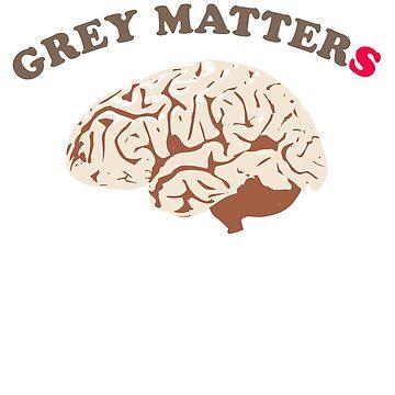 Brain and grey matter count, be smart by mtsuszycki