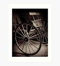 Horse Buggy Art Print
