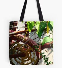 Rusted Flyer Tote Bag