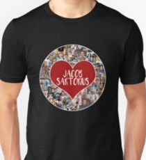 Ich liebe Jacob Sartorius - Circle Slim Fit T-Shirt