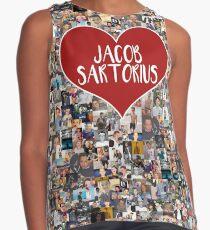 Ich liebe Jacob Sartorius - mit weißem Umriss Ärmelloses Top