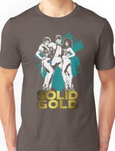 Solid Gold (Design B) Unisex T-Shirt
