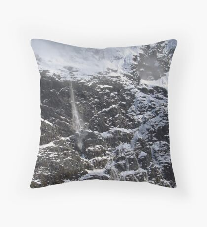 New Zealand Avalanche Throw Pillow