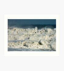 Angry Seas Art Print