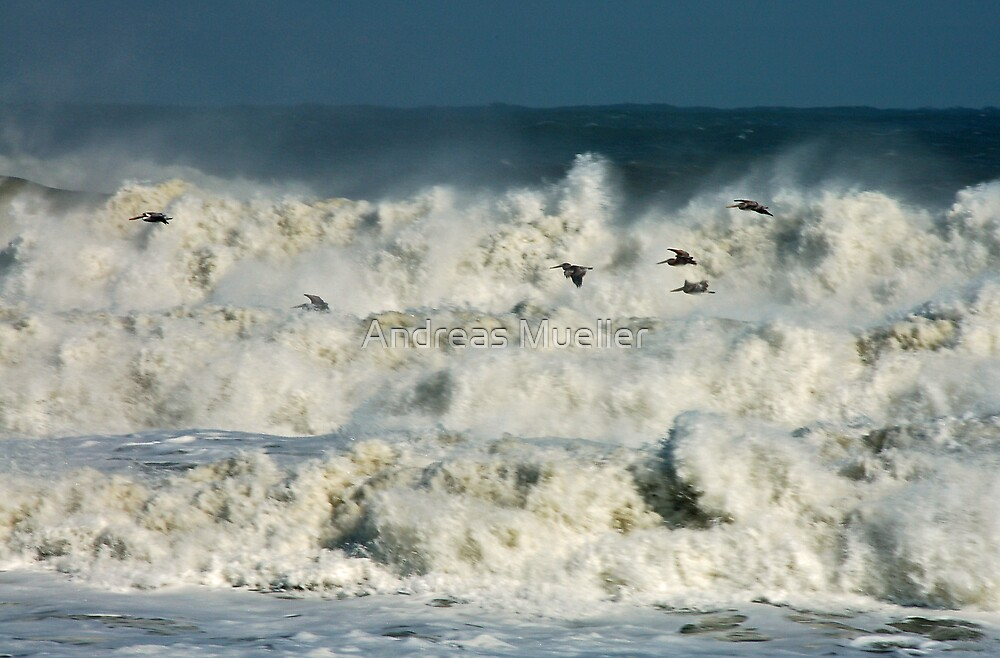 Angry Seas by Andreas Mueller
