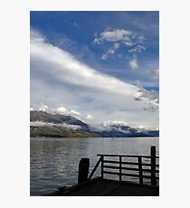 Kinloch Lodge Dock Photographic Print