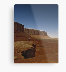 Off Into The Valley Metal Print