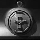 '69 Mustang Fuel Door by Julie Conway