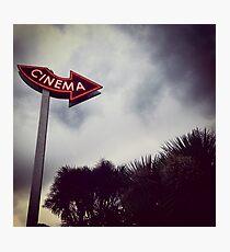 Cinéma. Photographic Print