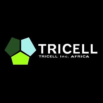 TRICELL Logo, White Text, Resident Evil by 411drpkv4c