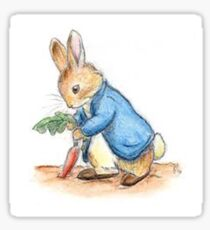 Peter rabbit Sticker