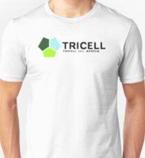TRICELL Logo, Black Text, Resident Evil Unisex T-Shirt