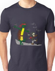 Casey and Raph Unisex T-Shirt