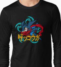 greninja pokemon Long Sleeve T-Shirt