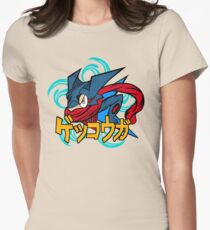 greninja pokemon Womens Fitted T-Shirt