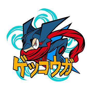 greninja pokemon by yudakurnia