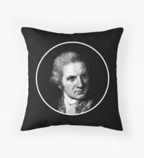 Captain Cook Cushion  Throw Pillow