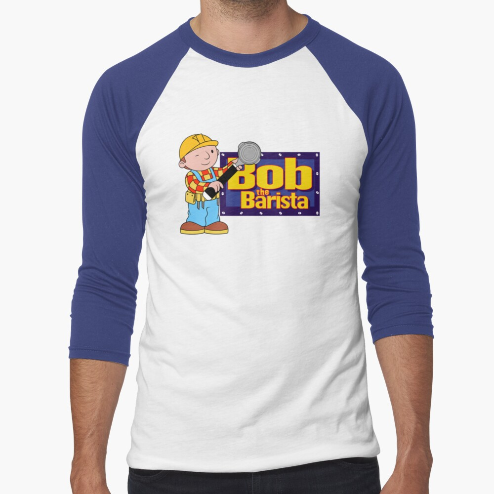 Bob the Barista... Baseball ¾ Sleeve T-Shirt
