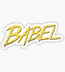 Babel ES6 Sticker