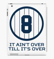 Yogi Berra It Ain't Over Till It's Over iPad Case/Skin