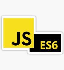 JavaScript ES6 Sticker