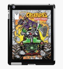 creatures feat grave digger monster jam iPad Case/Skin