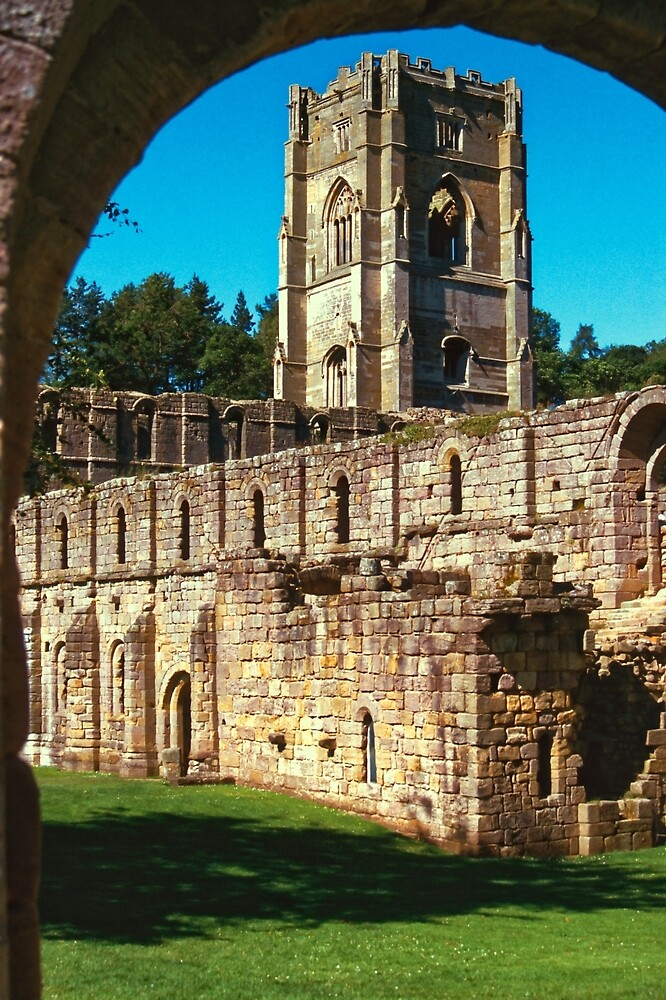 Fountains Abbey 8 by Priscilla Turner