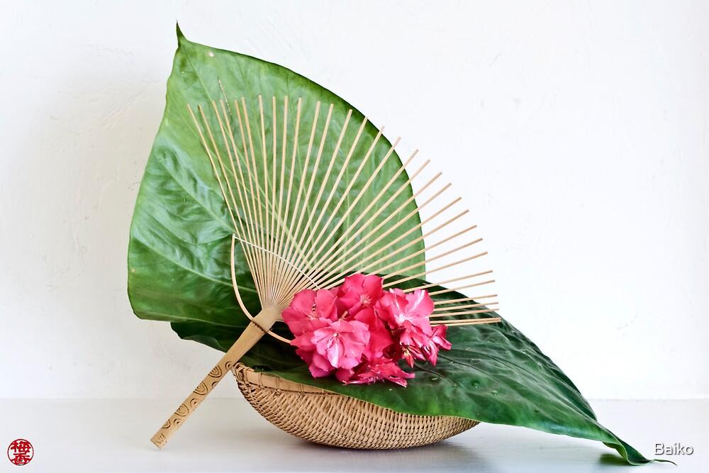 Ikebana-054 by Baiko