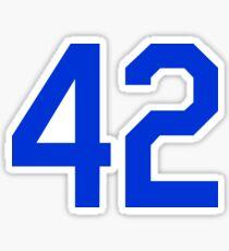 42 Shirt Sticker