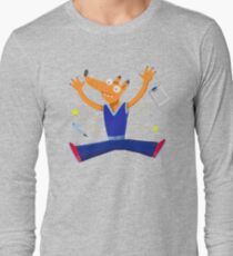 Celebration graduation fox jumping for joy T-Shirt
