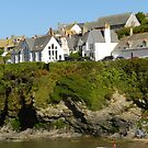 "The "" Schoolhouse"" of Port Isaac(Wenn). North Cornwall by hans p olsen"