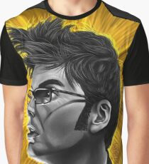 The Tenth Doctor David Tennant Hair Doctor Who Graphic T-Shirt