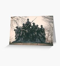 107th United States Infantry Greeting Card