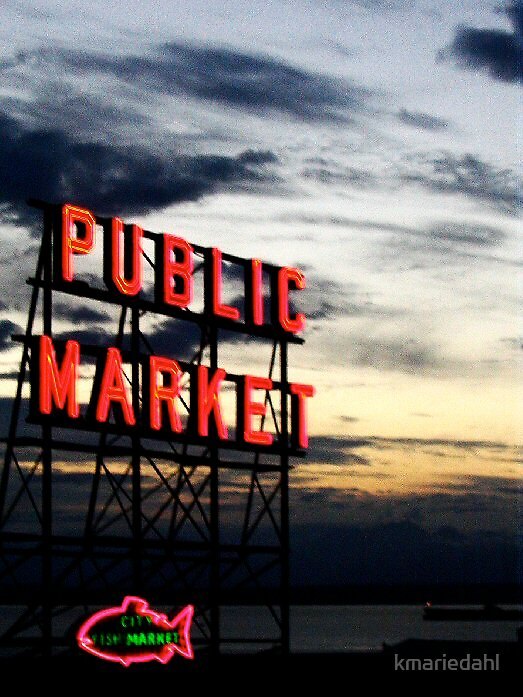 Pike's Place Market by kmariedahl